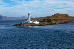 Eilean Musdile Lighthouse Royalty Free Stock Images