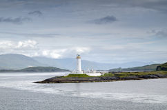 Eilean Musdile Lighthouse Royalty Free Stock Photography