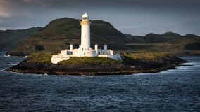 Eilean Musdile Lighthouse Stock Images
