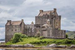 Eileen Donan Castle, Schotland, het UK Stock Foto's