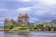 Eileen Donan Castle, Schotland, het UK Royalty-vrije Stock Afbeeldingen