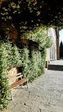 Ein öffentlicher Platz außerhalb San Miniato-Als Monte in Florenz, Italien lizenzfreies stockfoto