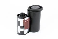 Ein 35 Millimeter-Kamerafilm Stockfotografie