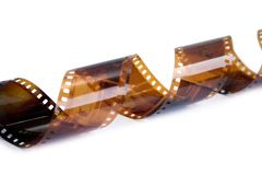 Ein 35mm Film Lizenzfreies Stockbild