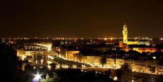 Ein Abend in Florenz Lizenzfreies Stockbild