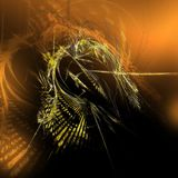 Ein abstrakter Hintergrund Lizenzfreies Stockbild