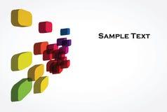 Ein abstrakter Hintergrund 3d Stockfotografie