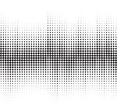 Ein abstrakter Schwarzweiss-Halbtonhintergrund Stockbild