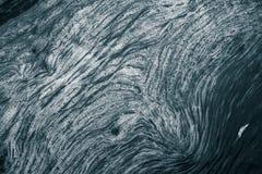 Ein abstraktes Muster von einem schaumbildenden im Fluss Stockfoto