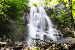 Ein Adirondack-Wasserfall Stockfotografie