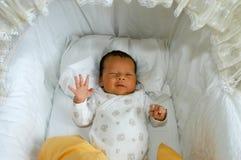 Ein alter Babymann des Monats Lizenzfreies Stockfoto