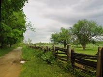 Ein alter Bauernhof Stockfotos