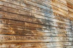 Ein alter Baum Die Wand der Bretter Konzepthintergrund und -text Lizenzfreies Stockbild