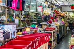 Ein alter chinesischer Drugstore stockfotografie