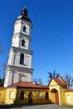 Ein alter Glockenturm in Pinsk lizenzfreie stockfotografie