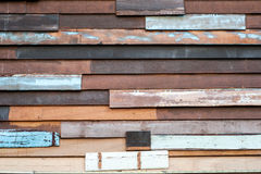 Ein alter hölzerner Wandbeschaffenheitshintergrund Lizenzfreie Stockfotos