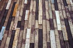 Ein alter hölzerner Wandbeschaffenheitshintergrund Stockfotografie