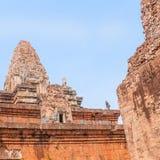 Ein alter Tempel in Angkor Lizenzfreies Stockbild