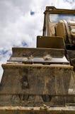 Ein alter verfallener LKW Stockfoto