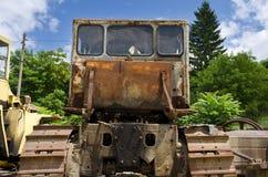 Ein alter verfallener LKW Lizenzfreie Stockbilder