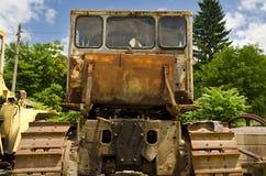 Ein alter verfallener LKW Stockfotografie
