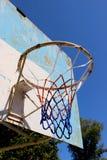 Ein altes Basketballrückenbrett Lizenzfreie Stockbilder
