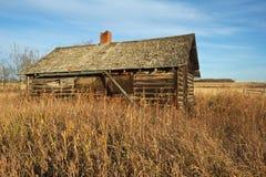 Ein altes Blockhaus Lizenzfreie Stockfotografie