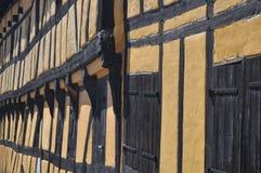 Ein altes dänisches Haus Stockfotos