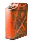 Ein altes fünf US-Gallonengas kann stockfotos