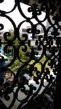 Ein altes Fenster zur neuen Welt Lizenzfreies Stockbild