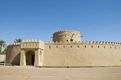 Ein altes Fort, UAE stockbild