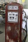 Ein altes Gasstation einzig für Oldtimers? lizenzfreie stockfotos