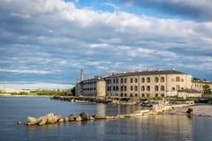Ein altes Gefängnis, medizinische Anlage nannte Patarei lizenzfreie stockbilder