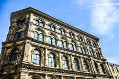 Ein altes historisches Gebäude des Britischen Imperiums Stockfotografie