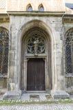 Ein altes katholisches Kloster, das jetzt das Landesschule Pforta, Internatsgymnasium unterbringt Touristenort Sachsen-Anhalt, De stockfotos