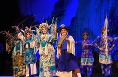 """Ein altes Pferd, das die Frauen-Generäle Weise Pekings Opera"""" von Yang Familyâ-€  kennt Lizenzfreies Stockfoto"""