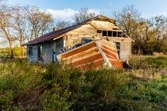 Ein altes verlassenes Gutshaus Stockfoto