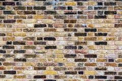 Ein altes, verwittert, kopiert, Backsteinmauer Stockbild