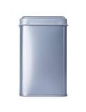 Ein Aluminiumkasten Stockbild