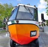 Ein amphibischer Touristenbus in Taiwan Stockbild