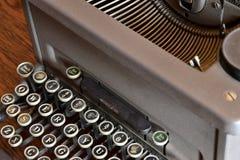Ein Anblick einer alten Schreibmaschine Lizenzfreies Stockbild