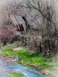 Ein anderer Frühling auf dem 15 Meilen-Nebenfluss Stockfotografie