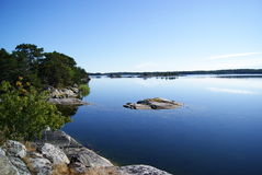 Ein anderer Morgen im Meer Ostsee Lizenzfreies Stockfoto