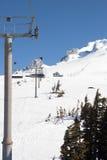 Ein anderer Ski-Aufzug auf Mt-Haube. lizenzfreie stockbilder