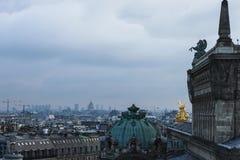 Ein anderer Tag in Paris stockfoto