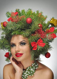 Ein anderer Weihnachtsbaum Lizenzfreies Stockfoto