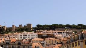 Ein Ansichtstadtteil Lissabon. Stockfotografie
