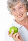 Ein Apfel Lizenzfreie Stockbilder