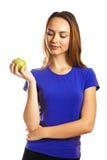 Ein Apfel ein Tag hält Doktor weg Stockbild