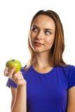 Ein Apfel ein Tag hält Doktor weg Lizenzfreies Stockbild